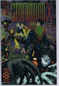 Generation X #1 ORIGINAL Vintage 1994 Marvel Comics Chromium Cover