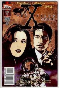 X-FILES SEASON 1 : SPACE, NM+, Fox Mulder, Dana Scully, more XF in store