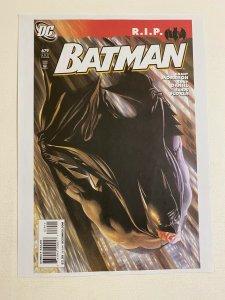 Batman #679 DC Comics poster by Alex Ross