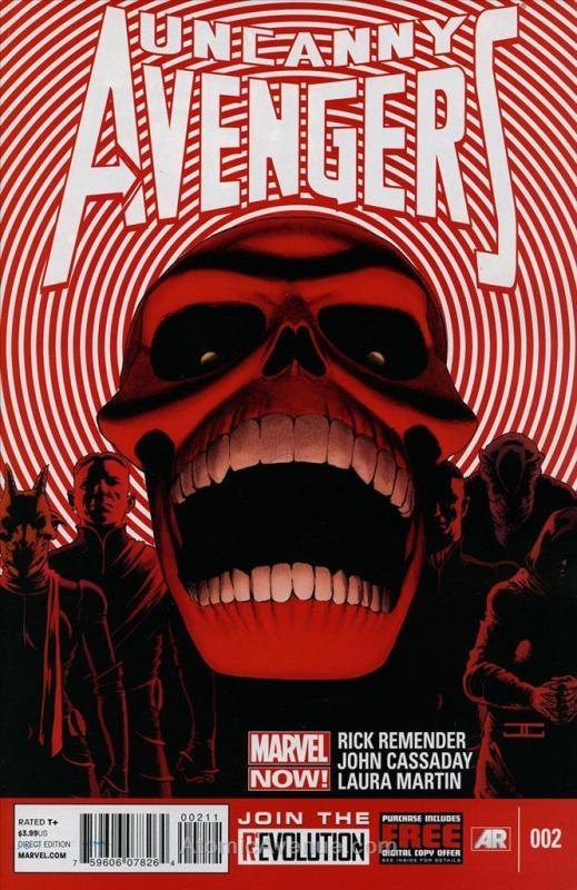 Uncanny Avengers #2 VF/NM Marvel - save on shipping - details inside