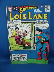 Superman Girlfriend LOIS LANE 34 F VF LEX LUTHOR 1962