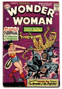 WONDER WOMAN #160 1st Silver-Age CHEETAH 1966-DC  comic book