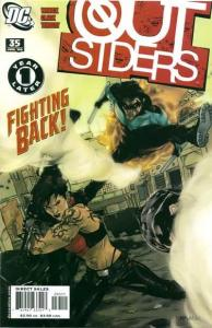 Outsiders (2003 series) #35, VF (Stock photo)