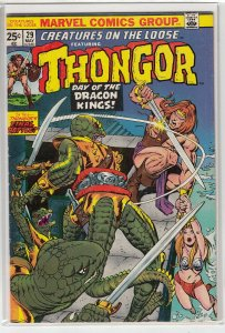 CREATURES ON THE LOOSE (1971 MARVEL) #29 FN- A01868