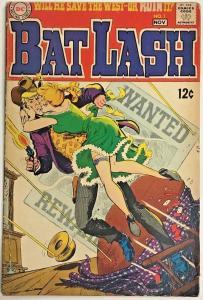 BAT LASH#1 GD/VG 1968 DC SILVER  AGE COMICS
