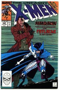 Uncanny X-Men #256 comic book  marvel 1st new Psylocke-1989