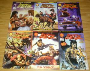 Bruce Lee #1-6 VF/NM complete series MIKE BARON martial arts malibu 2 3 4 5