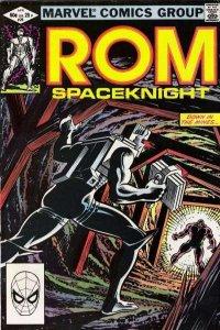 Rom (1979 series) #29, VF (Stock photo)
