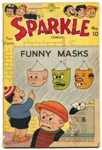 Sparkle Comics #10 1950- Nancy- F/G