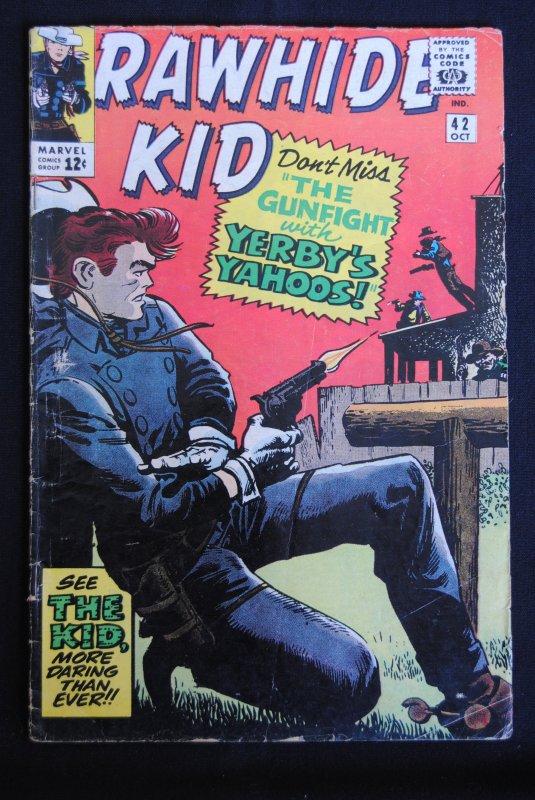 Rawhide Kid #42, 5.0