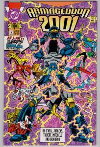 Armageddon 2001 Special #2 (DC, 1991)   7.0 FN/VF