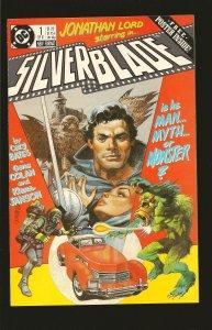 DC Comics Silver Blade No 1 1987