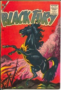 Black Fury  #1 1955-Charlton-1st issue-10¢ cover price-FN