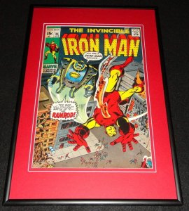 Iron Man #36 Ramrod Framed 12x18 Cover Photo Poster Display Official Repro