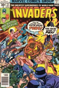 Invaders (1975 series) #21, Fine+ (Stock photo)