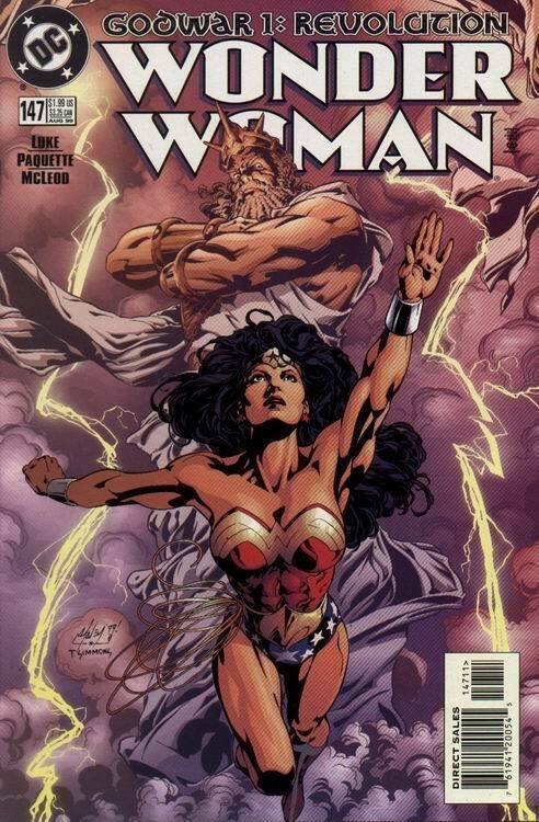 WONDER WOMAN (1987 DC) #147 NM- A95006