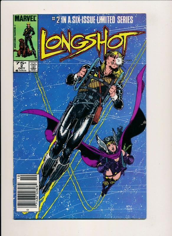 LONGSHOT #2 Marvel Comics 1985 ~ F/VF (PJ17)