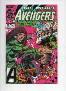 AVENGERS #241, NM, Morgan Le Fey, Captain Marvel, 1963 1984,more Marvel in store