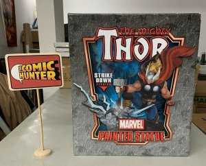 Marvel The Mighty Thor Strike Down Version Painted Statue See Description