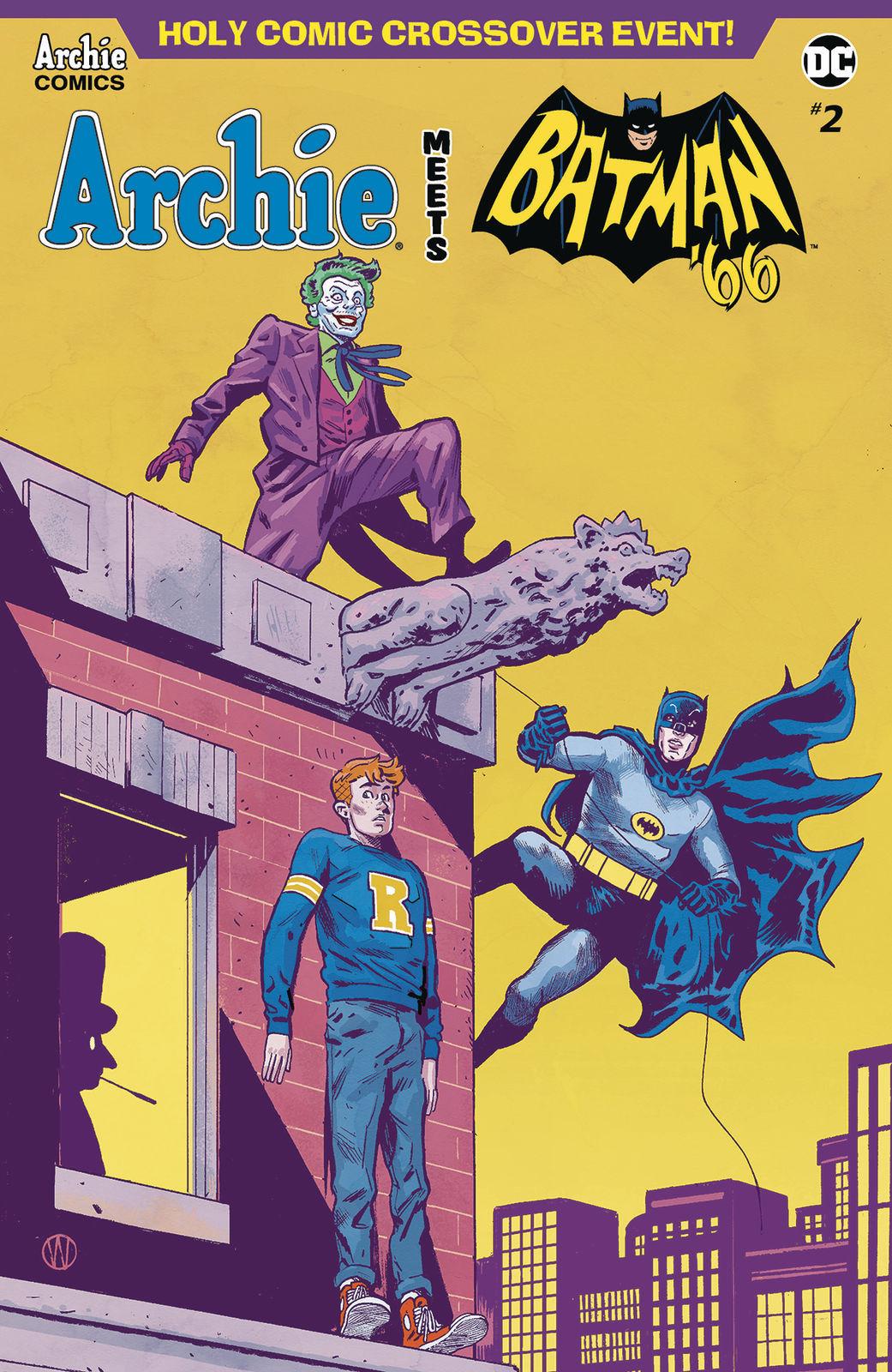 Archie Meets Batman 66 #4 Cvr F 2018 NM