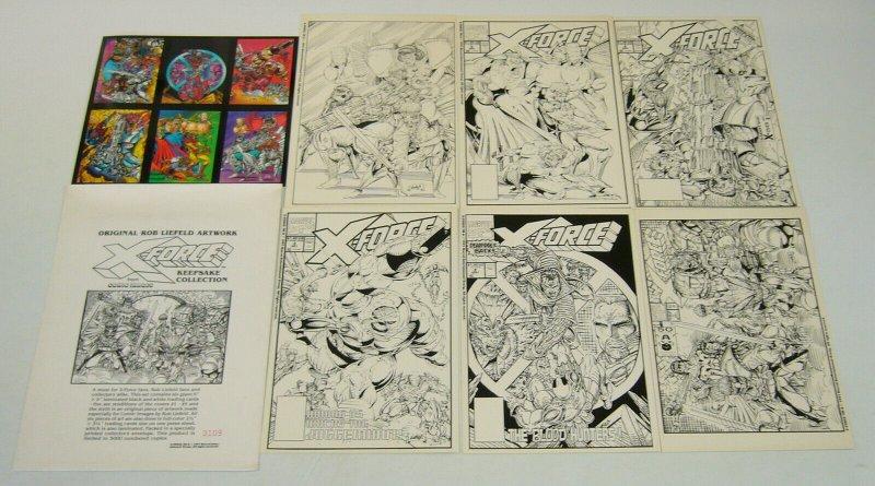 X-Force Keepsake Collection - marvel comics portfolio liefeld (#3,109 of 5,000)