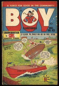 Boy Comics #43 GD+ 2.5