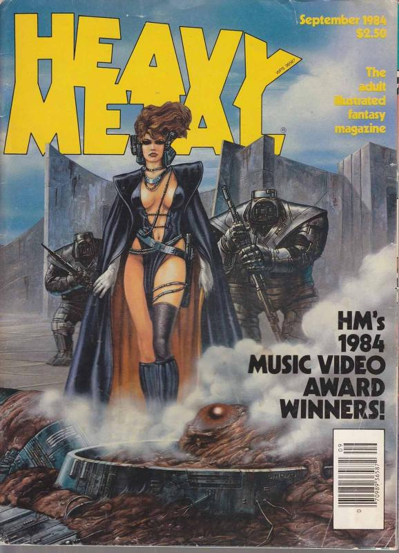 Heavy Metal #91 (Newsstand) VG; Metal Mammoth | low grade comic - save on shippi
