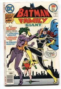 Batman Family #9 1977-DC-Joker's Daughter-Robin-Batgirl-FN