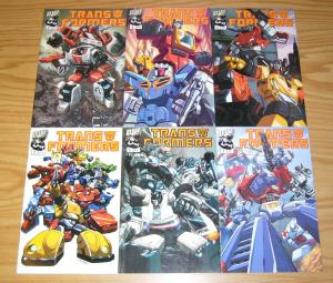 Transformers: Generation 1 #1-6 VF/NM complete series ALL AUTOBOT VARIANTS set