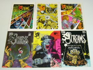 the 39 Screams #1-6 VF/NM complete series - thunder baas horror set lot 2 3 4 5