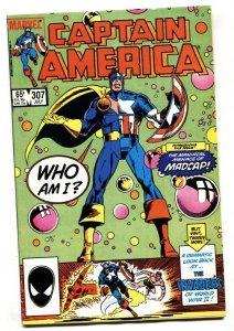 CAPTAIN AMERICA #307 1st Madcap Marvel comic book NM-