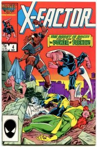 X-Factor #4 (8.5-9.0) 1986 The Power of Frenzy! Copper Age  Marvel ID108H