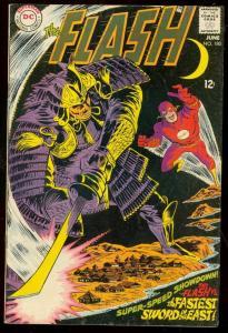 THE FLASH #180 1968-DC COMICS-WILD SAMUAI COVER FN