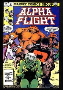 Alpha Flight #2 (1983)