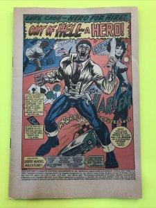 LUKE CAGE, HERO FOR HIRE #1 1972, No Cover Wrap1st Appearance & Origin Luke Cage