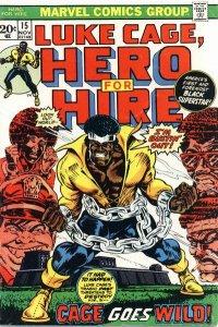 Luke Cage, Hero For Hire #15 (ungraded) stock photo