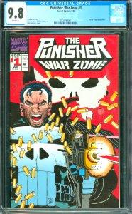 Punisher: War Zone #1 CGC 9.8
