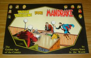 Three Thrilling For Mandrake the Magician SC FN golden age of the comics stars