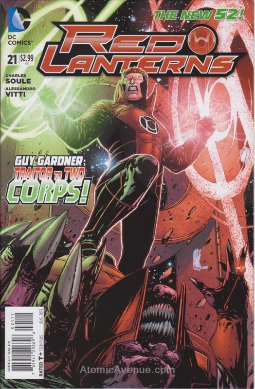 Red Lanterns #21 VF; DC | save on shipping - details inside
