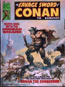 Savage Sword of Conan #10 - Early Conan Magazine - 6.0 or Better