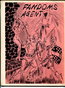 Fandom's Agent #8 1969-reproduction comic covers-Dick Mosso cover-G