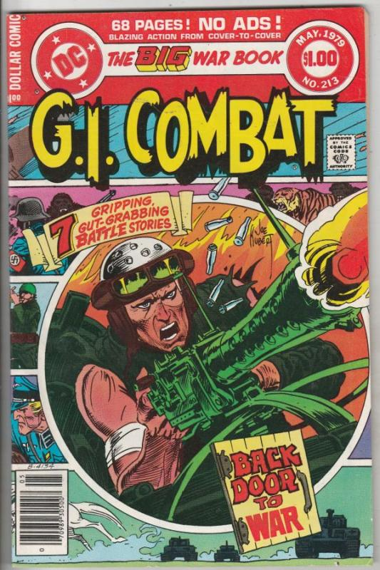 G.I. Combat #213 (May-79) FN/VF Mid-High-Grade The Haunted Tank, OSS