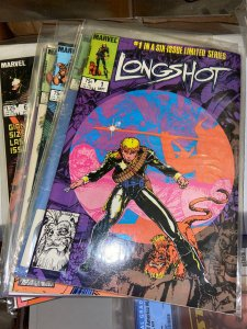 Longshot (1985) Lot - Complete Mini Series Set w/#s 1-5, 1st Limited Series