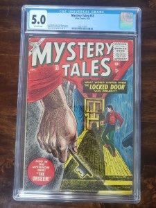 Mystery Tales 33 CGC 5.0