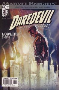 Daredevil (Vol. 2) #43 FN; Marvel | save on shipping - details inside