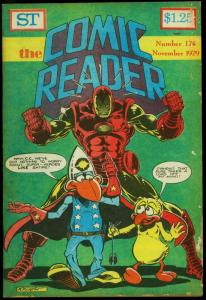 Comic Reader #174 1979- Fanzine- Iron Man cover G