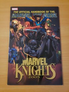 Official Handbook of the Marvel Universe: Marvel Knights 2005 ~ NEAR MINT NM ~