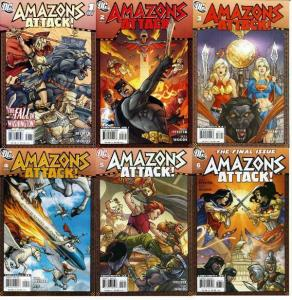 AMAZONS ATTACK (2007) 1-6  COMPLETE! Wonder Woman's family