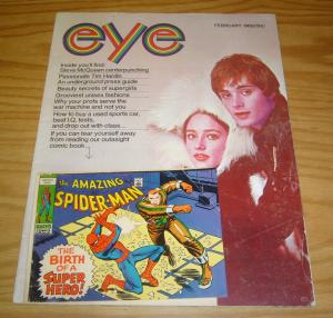 Eye vol. 2 #2 VG february 1969 - spider-man comic by lee/romita - underground