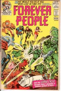 FOREVER PEOPLE 7 VG   March 1972 COMICS BOOK